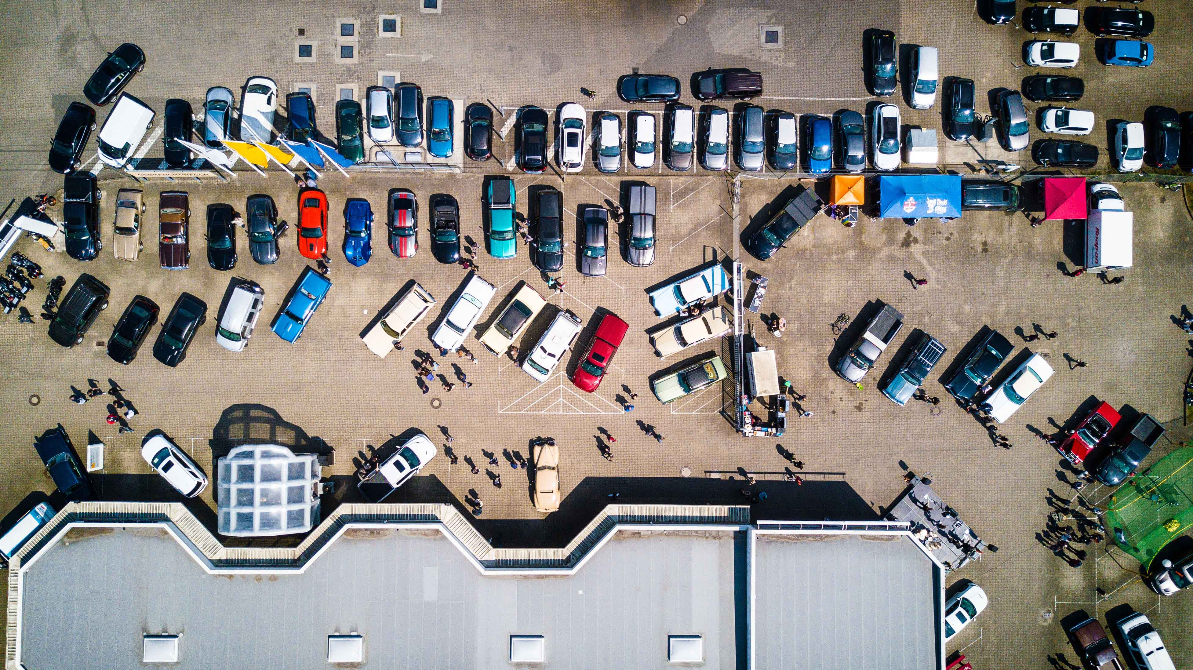 second hand car lot