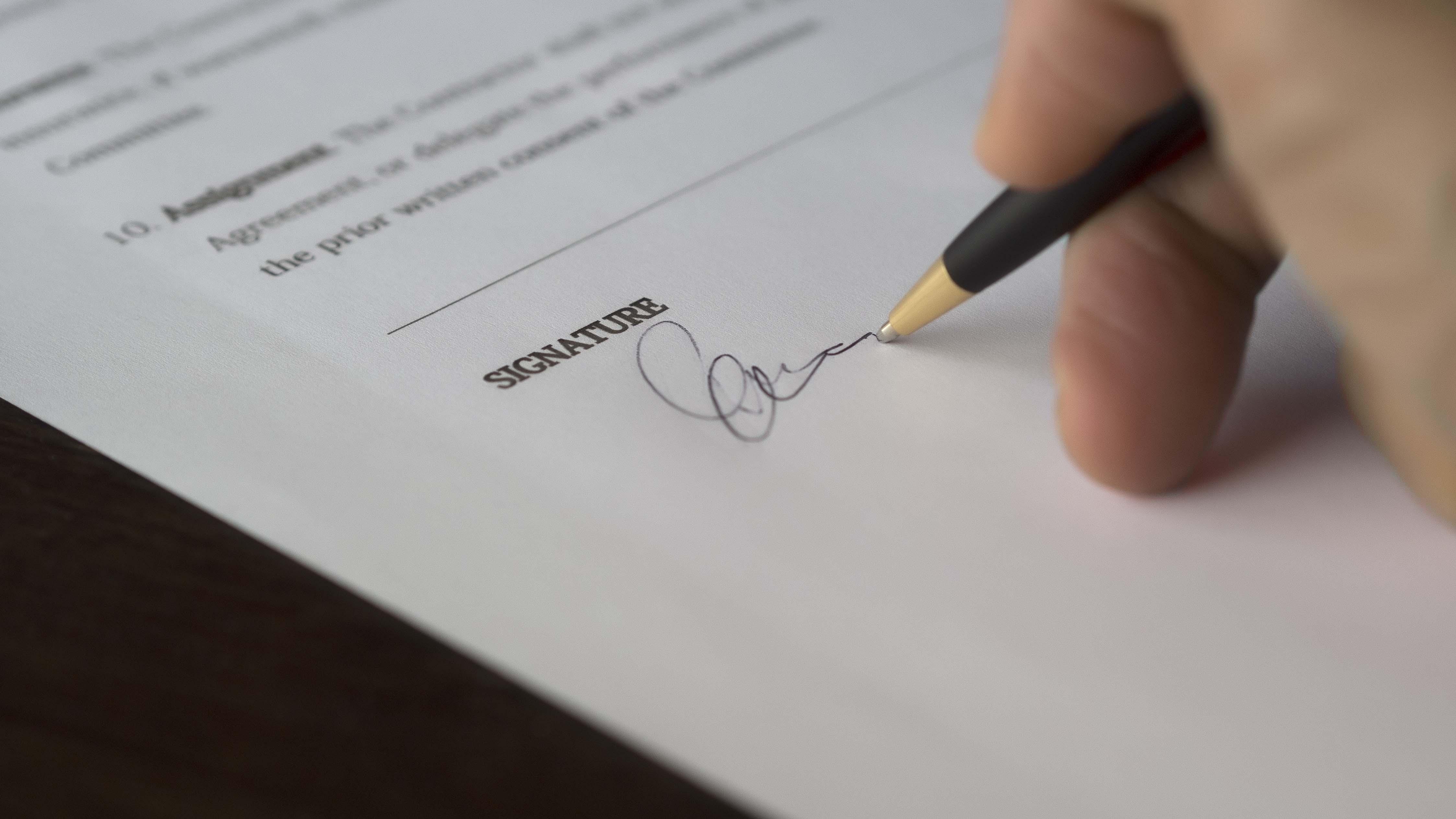 paperwork for buying segunda mano
